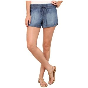 True Religion Denim Chambray Shorts